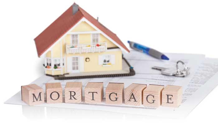 A home sat on repayment plan paperwork